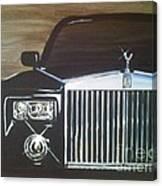Par De Elegance Rolls Royce Phantom Canvas Print