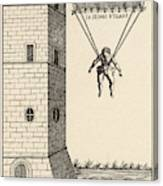 Parachute At Venice, Enabling  Descent Canvas Print