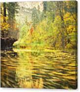 Parade Of Autumn Canvas Print