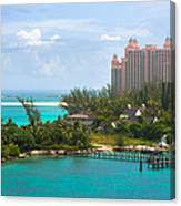 Paradise And Atlantis Canvas Print