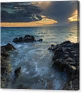 Paradise Cloud Explosion Canvas Print