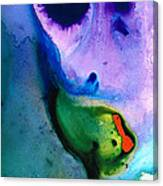 Paradise Found - Colorful Abstract Painting Canvas Print