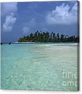 Paradise Island 1 Canvas Print