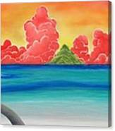 Paradise Panorama Canvas Print