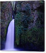 Paradise Pours Wanclella Falls Oregon Canvas Print