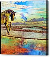 Paradise Sunset Canvas Print