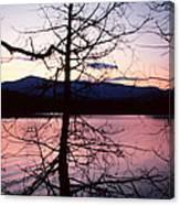Paradox Lake Sunset II Canvas Print