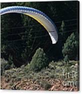 Paragliding Hazards Canvas Print