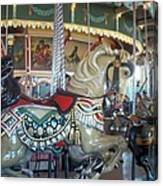 Paragon Carousel Nantasket Beach Canvas Print