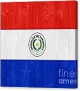 Paraguay Flag Canvas Print