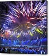 Paralympics 2012 Closing Ceremony Canvas Print