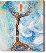 Paramhansa Yogananda - Mist Canvas Print