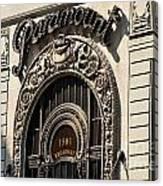 Paramount - Broadway - Nyc Canvas Print