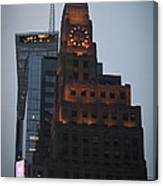 Paramount Building Times Square Canvas Print