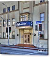 Paramount Movie Studio Hollywood Ca Canvas Print