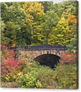 Parapet Bridge Canvas Print