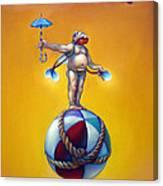 Parapluie Nautique Canvas Print
