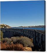 Pardee Dam Canvas Print