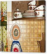Parental Home 01 - Kitchen Detail Canvas Print