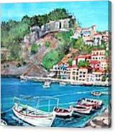 Parga In Greece Canvas Print