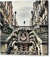 Paris - Statue Canvas Print