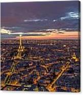 Paris - Tour Montparnasse 2 Canvas Print