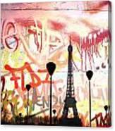 Paris 15 Canvas Print