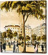Paris 1878 Canvas Print
