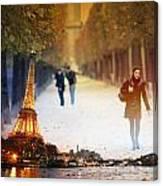 Paris 21 Canvas Print