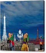Paris 71 Canvas Print