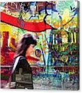Paris 8 Canvas Print