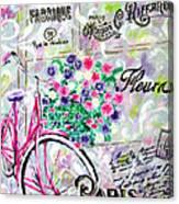 Paris By Jan Marvin Canvas Print