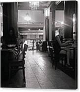 Paris Cafe Canvas Print