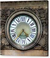 Paris Clocks 1 Canvas Print