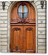 Paris Doors Canvas Print
