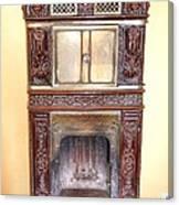 Paris Fireplace Canvas Print