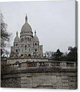 Paris France - Basilica Of The Sacred Heart - Sacre Coeur - 12129 Canvas Print