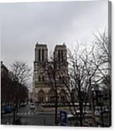 Paris France - Notre Dame De Paris - 011311 Canvas Print