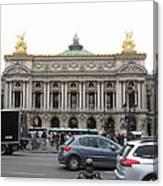 Paris France - Street Scenes - 121246 Canvas Print