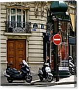 Paris Holiday Canvas Print