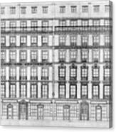 Paris Houses, 1841 Canvas Print