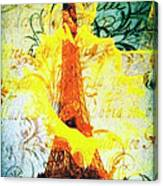 Paris In The Springtime Canvas Print