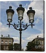 Paris Lamp Post Canvas Print