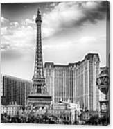 Paris Las Vegas Canvas Print