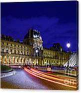 Paris Louvre Museum Canvas Print