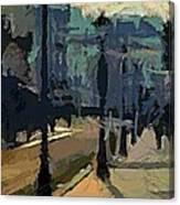Paris  Morning Canvas Print