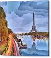 Paris Nights Canvas Print
