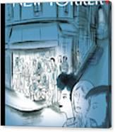 Paris, November 2015 Canvas Print