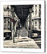 Paris - Old Man Canvas Print