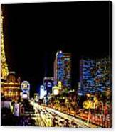 Welcome To Vegas Canvas Print
